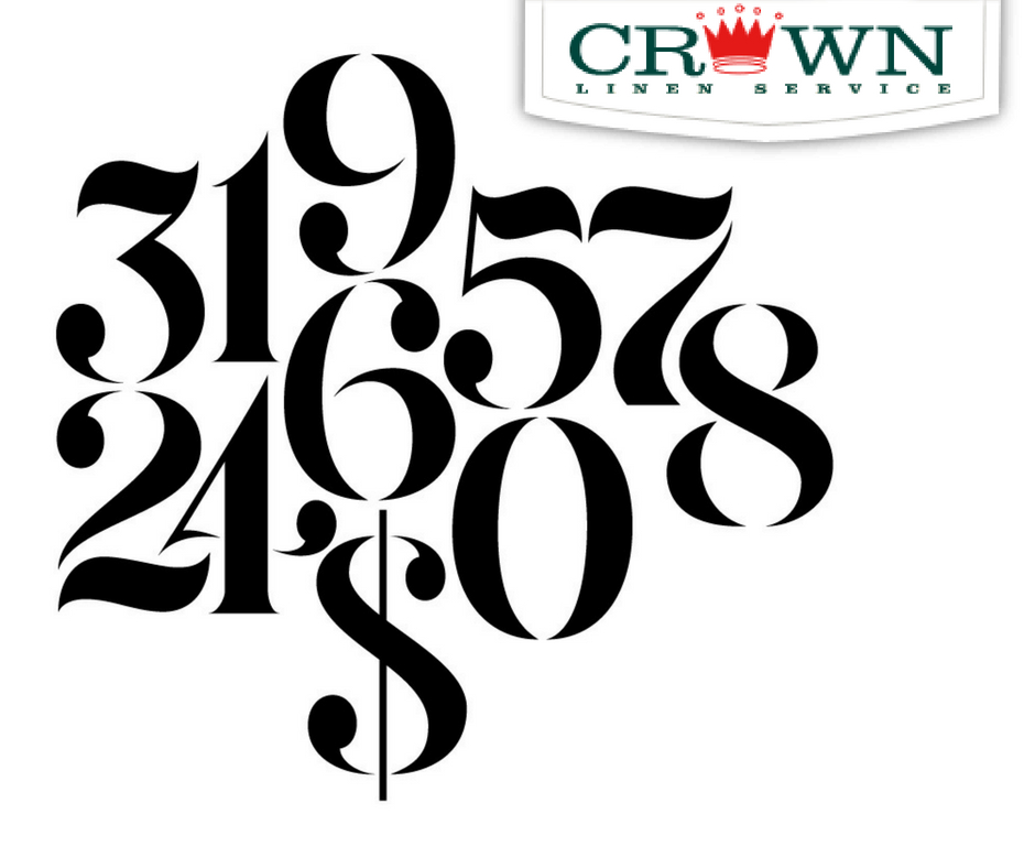 crown linen service by the numbers