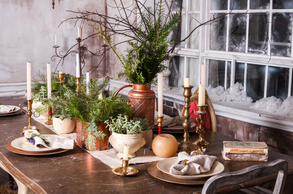 restaurant centerpieces for the holidays